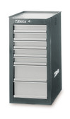 BETA 038000083 C38 LG-SIDE CAB 7 DRAWERS GREY