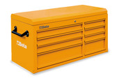 BETA 038000091 C38 TO-CAB 8 DRAWERS + TOP CHEST ORANGE