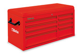 BETA 038000092 C38 TR-CAB 8 DRAWERS + TOP CHEST RED