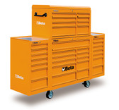 BETA 038000201 C38 CO-MOBILE ROLLER CAB 33 DRAW. ORANGE