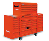 BETA 038000202 C38 CR-MOBILE ROLLER CAB 25 DRAWERS RED