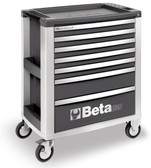 BETA 039000002 C39 G-MOBILE ROLLER CAB 7 DRAWERS GREY