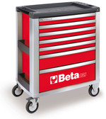 BETA 039000003 C39 R-MOBILE ROLLER CAB 7 DRAWERS RED
