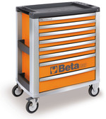 BETA 039000041 C39 O/8-MOBILE ROLLER CAB 8 DRAW. ORANGE