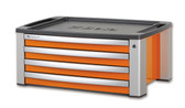 BETA 039000101 C39T O-PORTABLE TOOL CHEST 4 DR. ORANGE