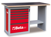 "BETA 059000043 C59 C-R-""ENDURANCE"" WORKBENCH 6 DRAWERS"