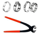 Knipex 10 99 i220 Oetiker Clamp Pliers with Side Jaw