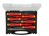 FELO 62745 E-slim Insulated 7 piece Screwdriver Set - SL and PH