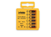 "FELO 63063 Profi Bit Box 6 Torx Bits x 2"" - T10 / T15 / T20 / T25 / T30 / T40 *NEW*"