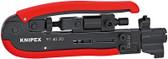 Knipex 97 40 20 SB Compression Tool for Coax conectors
