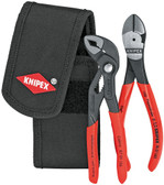Knipex  00 20 72 V02 Mini pliers set in belt tool pouch