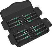 WERA 05073677001 Kraftform Micro-Set/12 SB 1 Screwdriver Set for Electronic Applications