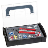 NWS 338-23 Crimping Pliers and End-Sleeves Assortment