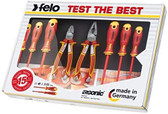 FELO 0717563853 8pc XL Insulated Set Pliers/Screwdrivers *NEW*