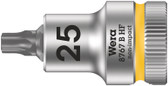 "WERA 05003062001 8767 B HF TX 25 x 35 mm Zyklop bit socket with 3/8"" drive holding function"