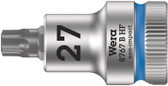 """WERA 05003064001 8767 B HF TX 27 x 35 mm Zyklop bit socket with 3/8"""" drive holding function"""