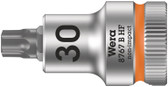 "WERA 05003066001 8767 B HF TX 30 x 35 mm Zyklop bit socket with 3/8"" drive holding function"