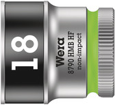 "WERA 05003752001 8790 HMB HF 18,0 Zyklop socket with 3/8"" drive, holding function"