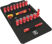 """WERA 05004970001 8100 SB VDE 1 Zyklop Ratchet set, insulated, switch lever 3/8"""""""