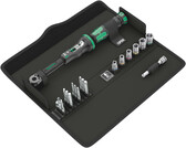 WERA 05130110001 Click-Torque A6 in textiler Box mit Bits + NŸssen