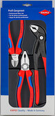 Knipex 00 20 09 V01 3 Pc Combination, Diagonal, Cobra