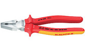 Knipex 02 08 225 SBA 9'' High Leverage Combination Pliers-1,000V Insulated