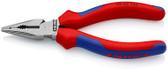 Knipex 08 22 145 SBA 5 3/4'' Needle-Nose Combination Pliers-Comfort Grip