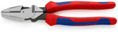 Knipex 09 02 240 SBA 9 1/2'' High Leverage Lineman's New England Head-Comfort Grip
