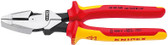 Knipex 09 08 240 SBA 9 1/2'' High Leverage Lineman's New England Head-1,000V Insulated