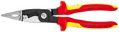 Knipex 13 88 8 US 8'' Electrical Installation Pliers-1,000V Insulated 12,14 AWG