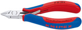 Knipex 77 32 120 H 4 3/4'' Electronics Diagonal Cutters Carbide Metal Cutting Edges-Comfort Grip