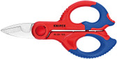 "Knipex 95 05 155 SBA 6 1/4"" Electricians` Shears"