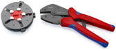Knipex 97 33 01 10'' MultiCrimp® Crimping Pliers with changer magazine