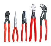 Knipex 9K 00 80 108 US 5 Pc Automotive Starter Pliers Set (87 01 250, 95 11 200, 26 11 200, 74 01 250, 71 31 200)