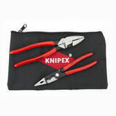 Knipex 9K 00 80 130 US 2 Pc Lineman's and Installation Set