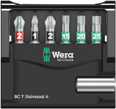 WERA 05134904001 Bit-Check Christmas 2019 In Gift Packaging