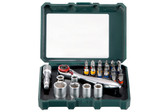"Metabo Bit box and ratchet set ""SP"" 26 pieces"