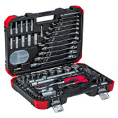 Gedore Red 46003092 Deluxe Socket/Spanner and Bit set