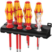 WERA 05006147001 160 i/7 Rack screwdriver set Kraftform Plus Series 100, voltage tester and rack