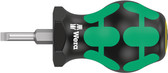 WERA 05008841001 Stubby Screwdriver for Slotted Screws 335 Stubby 0,8 x 4,0 x 79 mm