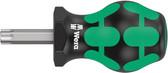 WERA 05008862001 Stubby Screwdriver for Torx Screws 367 Stubby TX 40 x 79 mm