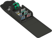 WERA 05057471001 811/1 Stubby Bitholder + PH/PZ/Hex metric/TX and Slotted Bits (17 Bits in total) - in Kraftform Kompakt pouch Kraftform Kompakt Stubby 1