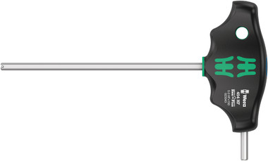WERA 05023343001 T-Handle Hex driver with Holding Function 454 Hex-Plus HF 5 x 150 mm