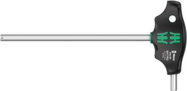 WERA 05023353001 T-Handle Hex driver with Holding Function 454 Hex-Plus HF 8 x 200 mm