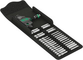 WERA 05057470001 T-Handle Bit Holding Rapidaptor + 89mm Bits in Kraftform Kompakt textile Pouch Kraftform Kompakt 400
