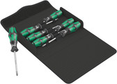 WERA 05105623001 Kraftform 300/7 Set 1 Screwdriver set Kraftform Plus, textile box
