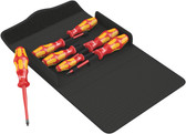 WERA 05136013001 Kraftform 100 iS/7 Set 1 Screwdriver set Kraftform Plus, textile box