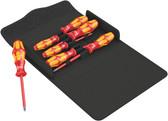 WERA 05136019001 Kraftform 100 i/7 Set 1 Screwdriver set Kraftform Plus, textile box