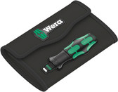 WERA 05136493001 Pouch for Kraftform Kompakt Turbo 19 piece set; empty Tool bag, empty