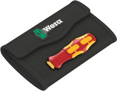 WERA 05136494001 Pouch for Kraftform Kompakt Turbo VDE 16 piece set; empty Tool bag, empty